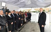 "President Aliyev arrives in Shamakhi <span class=""color_red"">[UPDATE / PHOTO]</span>"