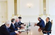 "Ilham Aliyev: Azerbaijan interested in soonest settlement of Karabakh conflict <span class=""color_red"">[PHOTO]</span>"