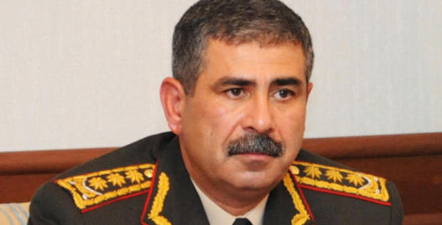 Azerbaijani army liberates heights in Nakhchivan, controls road to Lachin: minister