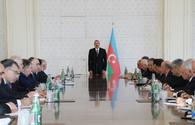 "President Ilham Aliyev chairs Cabinet meeting over socio-economic development <span class=""color_red"">[PHOTO]</span>"