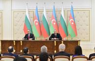 "President Ilham Aliyev: Azerbaijani gas will play its role in resolving Bulgaria's energy security issues <span class=""color_red"">[UPDATE]</span>"