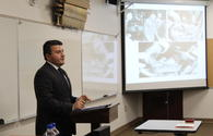 "Consul General Aghayev speaks at Fullerton College of California <span class=""color_red"">[PHOTO]</span>"