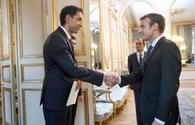 "President Macron: France is interested in developing relations with Azerbaijan <span class=""color_red"">[PHOTO]</span>"