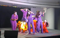 "Israeli Beresheet LaShalom Rainbow Theatre Group performs in Baku <span class=""color_red"">[PHOTO/VIDEO]</span>"