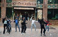 "Indian dance flash mob in Baku <span class=""color_red"">[VIDEO/PHOTO]</span>"