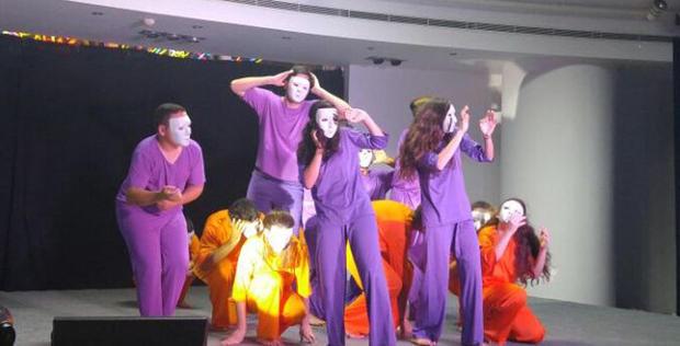 "Israeli Beresheet LaShalom Rainbow Theatre Group performs in Baku <span class=""color_red"">[PHOTO/VIDEO]</span>"