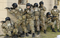 Azerbaijan's State Security Service detains smugglers group