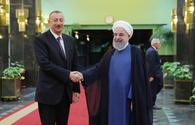 """Presidents of Azerbaijan, Iran discuss Karabakh conflict <span class=""""color_red"""">[PHOTO/UPDATE]</span>"""