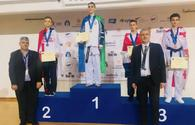 "Azerbaijani taekwondo fighter wins European championship in Cyprus <span class=""color_red"">[PHOTO]</span>"