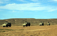 "Azerbaijani Armed Forces conduct live-firing exercise <span class=""color_red"">[PHOTO]</span>"