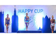 Azerbaijani gymnast grabs 4 gold medals at 20th Happy Cup 2017