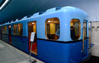 "Baku Metro presents retro carriages timed to 50th anniversary <span class=""color_red"">[PHOTO]</span>"