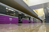 Azerbaijan's metro specialists master new technological process of train repair