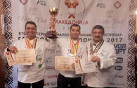 "National culinary team claims medals in Macedonia <span class=""color_red"">[PHOTO]</span>"