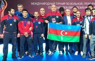 Azerbaijani wrestlers win two medals at Open Cup of European Nations