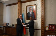 Mammadyarov meets newly appointed envoy of Sudan to Azerbaijan