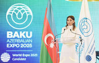 """First VP Mehriban Aliyeva: Azerbaijan has become a major party contributing to Europe-Asia relations <span class=""""color_red"""">[UPDATE]</span>"""