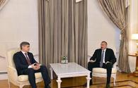 "President Aliyev receives Moldovan interior minister <span class=""color_red"">[PHOTO/UPDATE]</span>"