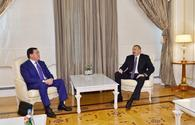 "President Ilham Aliyev receives Kazakh first deputy PM <span class=""color_red"">[PHOTO]</span>"