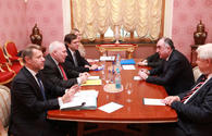 "Azerbaijan 's FM meets OSCE co-chairs in Moscow <span class=""color_red"">[UPDATE]</span>"