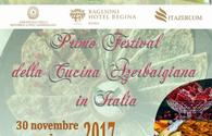 "National cuisine to be presented in Italy <span class=""color_red"">[PHOTO]</span>"