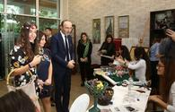 "Heydar Aliyev Foundation VP Leyla Aliyeva attends opening of ecological problems exhibition <span class=""color_red"">[PHOTO]</span>"
