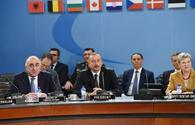 "President Aliyev attends NATO North Atlantic Council meeting <span class=""color_red"">[PHOTO]</span>"