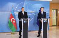 "President Ilham Aliyev:Azerbaijan's cooperation with NATO has great potential <span class=""color_red"">[PHOTO]</span>"