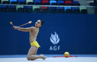 """Gymnastics competitions continue in Baku <span class=""""color_red"""">[PHOTO]</span>"""
