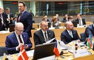 "President Ilham Aliyev attending Eastern Partnership Summit in Brussels <span class=""color_red"">[PHOTO]</span>"