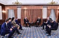 "President Aliyev meets with Ukrainian counterpart <span class=""color_red"">[PHOTO]</span>"