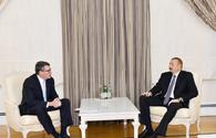 """President Aliyev receives delegation of CISCO <span class=""""color_red"""">[UPDATE]</span>"""
