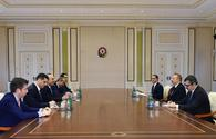 "President Ilham Aliyev receives Turkish FM Cavusoglu <span class=""color_red"">[UPDATE]</span>"