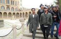 "Daniel Ricciardo visits Baku City Circuit <span class=""color_red"">[PHOTO]</span>"