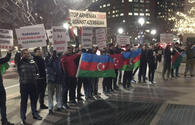 "Azerbaijani community holds protest action against Armenian provocation in Boston <span class=""color_red"">[PHOTO]</span>"