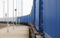 First Azerbaijani cargo train arrives in Turkey