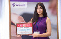 """Azercell stand named """"the most creative stand"""" at Bakutel 2017"""