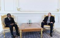 "President Aliyev receives credentials of incoming Sudanese ambassador <span class=""color_red"">[PHOTO/UPDATE]</span>"
