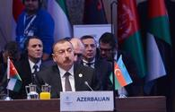 "Ilham Aliyev: Azerbaijan supports consistent settlement of Palestinian-Israeli conflict by peaceful means <span class=""color_red"">[UPDATE]</span>"