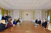 "President Ilham Aliyev receives UK minister of state <span class=""color_red"">[UPDATE]</span>"