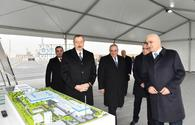 "President Ilham Aliyev visits Sumgait Chemical Industrial Park <span class=""color_red"">[UPDATE]</span>"
