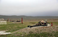 Azerbaijani Army conducts training with command staff