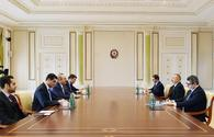 "President Aliyev receives Turkish FM <span class=""color_red"">[UPDATE]</span>"