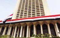 FM: Egypt stands for normalization of relations with Turkey