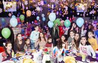 "Heydar Aliyev Foundation arranges annual New Year party for children <span class=""color_red"">[PHOTO]</span>"