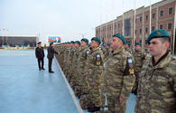 "Azerbaijan sends more peacekeepers for NATO-led mission in Afghanistan <span class=""color_red"">[PHOTO/VIDEO]</span>"