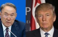Trump, Nazarbayev to mull situation in Afghanistan, North Korea