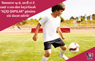 "AZFAR kids football school invites to Open Doors Days <span class=""color_red"">[PHOTO]</span>"