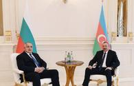 "President Aliyev holds one-on-one meeting with Bulgarian PM <span class=""color_red"">[PHOTO]</span>"