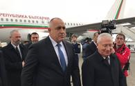 "Bulgarian PM arrives in Azerbaijan <span class=""color_red"">[PHOTO]</span>"